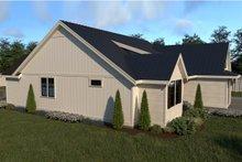 Architectural House Design - Left Side Elevation