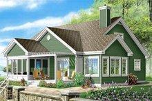 Traditional Exterior - Rear Elevation Plan #23-716