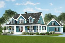 Farmhouse Exterior - Front Elevation Plan #929-553