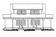 Log Style House Plan - 4 Beds 2 Baths 1280 Sq/Ft Plan #942-51 Exterior - Other Elevation