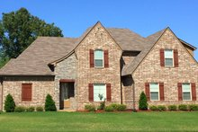Dream House Plan - Country Exterior - Front Elevation Plan #932-209