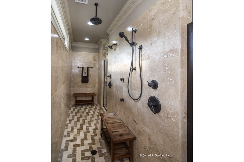 Country Interior - Master Bathroom Plan #929-556 - Houseplans.com