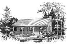 Architectural House Design - Cabin Exterior - Other Elevation Plan #22-127