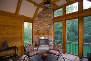 Traditional Style House Plan - 5 Beds 4.5 Baths 4873 Sq/Ft Plan #56-599 Photo