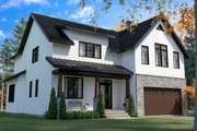 Farmhouse Style House Plan - 4 Beds 2.5 Baths 2496 Sq/Ft Plan #23-2725 Exterior - Front Elevation