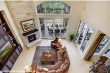 Dream House Plan - European Interior - Family Room Plan #930-516