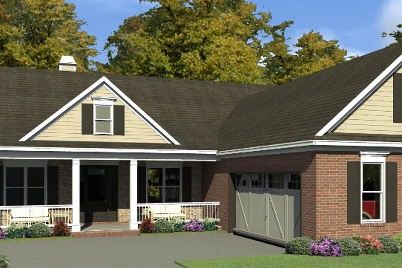 Dream House Plan - Traditional Exterior - Front Elevation Plan #63-425