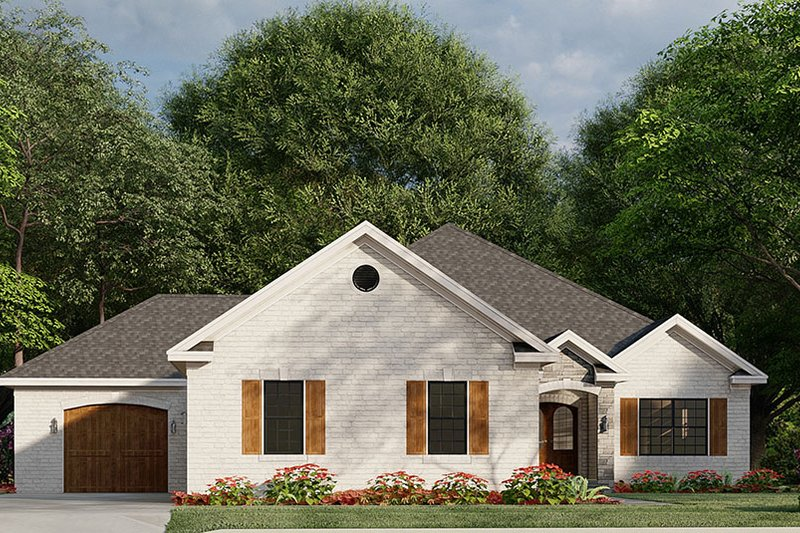 Home Plan - Traditional Exterior - Front Elevation Plan #923-182