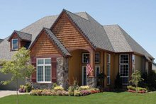 Home Plan - Traditional Exterior - Front Elevation Plan #48-526
