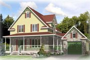 Traditional Style House Plan - 3 Beds 1.5 Baths 1461 Sq/Ft Plan #138-301 Exterior - Front Elevation