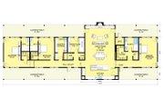 Ranch Style House Plan - 3 Beds 3.5 Baths 3108 Sq/Ft Plan #888-8 Floor Plan - Main Floor