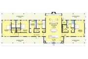 Ranch Style House Plan - 3 Beds 3.5 Baths 3108 Sq/Ft Plan #888-8