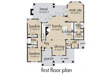 Storybook craftsman cottage plan - 1400sft