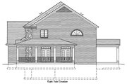 Traditional Style House Plan - 4 Beds 2.5 Baths 3073 Sq/Ft Plan #46-848 Exterior - Other Elevation