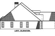 European Style House Plan - 5 Beds 4 Baths 2875 Sq/Ft Plan #17-2167 Exterior - Other Elevation