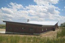 Architectural House Design - Modern Exterior - Rear Elevation Plan #451-18