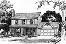Home Plan - Country Exterior - Other Elevation Plan #22-531
