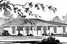 House Design - Ranch Exterior - Front Elevation Plan #36-356