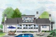 Farmhouse Style House Plan - 2 Beds 2 Baths 1299 Sq/Ft Plan #929-35 Exterior - Rear Elevation