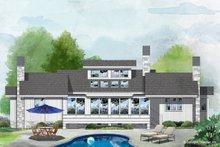 Dream House Plan - Farmhouse Exterior - Rear Elevation Plan #929-35