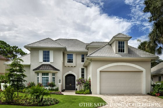 Home Plan - European Exterior - Front Elevation Plan #930-486