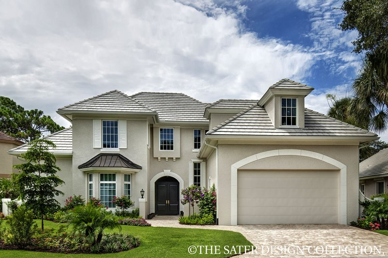 House Plan Design - European Exterior - Front Elevation Plan #930-486