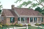 Country Style House Plan - 3 Beds 2.5 Baths 1884 Sq/Ft Plan #406-252 Exterior - Front Elevation