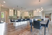 Traditional Style House Plan - 4 Beds 3.5 Baths 4606 Sq/Ft Plan #928-329 Interior - Dining Room
