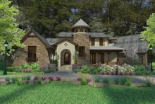 Dream House Plan - European Exterior - Other Elevation Plan #120-182