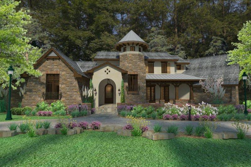 Dream House Plan - European Exterior - Other Elevation Plan #120-182