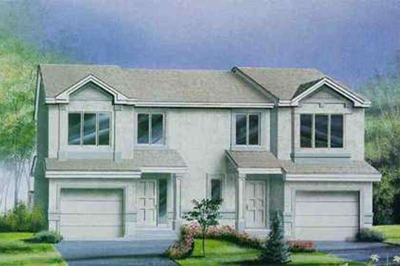 Traditional Style House Plan - 2 Beds 1.5 Baths 2520 Sq/Ft Plan #25-4253