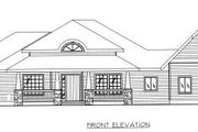 Bungalow Style House Plan - 1 Beds 1.5 Baths 2101 Sq/Ft Plan #117-569 Exterior - Other Elevation