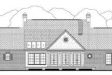 Dream House Plan - Southern Exterior - Rear Elevation Plan #406-165