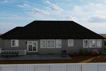 Traditional Exterior - Rear Elevation Plan #1060-67