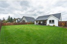 House Plan Design - Farmhouse Exterior - Rear Elevation Plan #1070-21