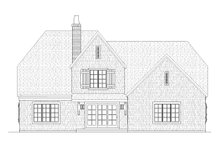 Dream House Plan - Farmhouse Exterior - Rear Elevation Plan #901-58