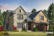 House Design - Craftsman Exterior - Front Elevation Plan #20-2280