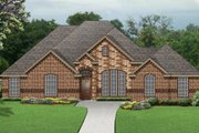 Traditional Style House Plan - 3 Beds 3 Baths 2396 Sq/Ft Plan #84-628 Exterior - Front Elevation