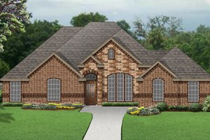 Traditional Exterior - Front Elevation Plan #84-628