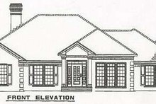 Home Plan - Traditional Exterior - Other Elevation Plan #17-583