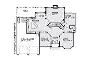 Contemporary Style House Plan - 4 Beds 4.5 Baths 4134 Sq/Ft Plan #1066-16 Floor Plan - Main Floor Plan