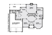 Contemporary Style House Plan - 4 Beds 4.5 Baths 4134 Sq/Ft Plan #1066-16 Floor Plan - Main Floor