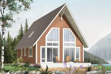House Plan Design - Exterior - Front Elevation Plan #23-2028