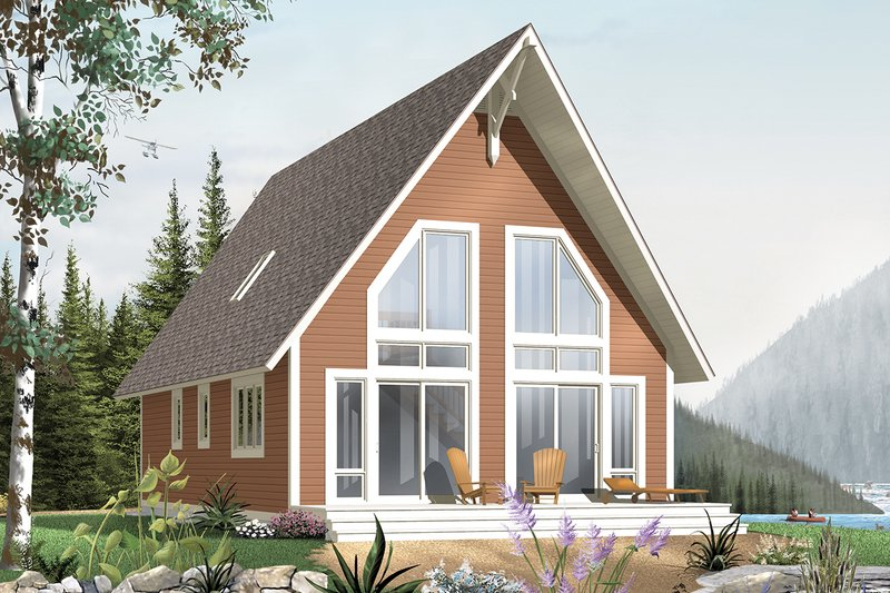 Home Plan - Exterior - Front Elevation Plan #23-2028