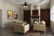 Southern Style House Plan - 4 Beds 2.5 Baths 2200 Sq/Ft Plan #21-264 Interior - Family Room