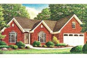 House Plan Design - Southern Exterior - Front Elevation Plan #34-163