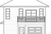 Modern Style House Plan - 1 Beds 1.5 Baths 1028 Sq/Ft Plan #23-2710