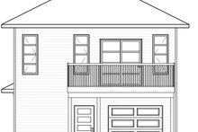 Modern Exterior - Rear Elevation Plan #23-2710
