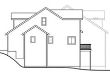 House Plan Design - Traditional Exterior - Other Elevation Plan #124-810