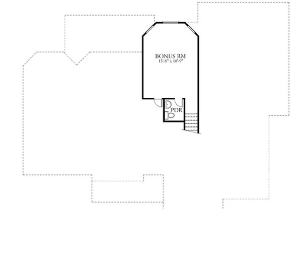 Dream House Plan - European Floor Plan - Upper Floor Plan #80-152